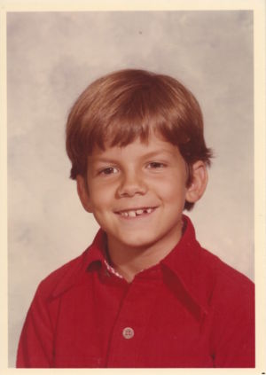 Jeff Whalen Growing Up 1977 - 7 years old (2nd Grade)